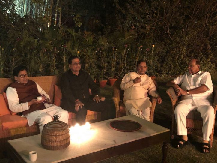 Image result for sonia gandhi's last night dinner meeting