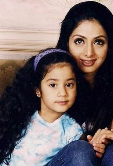 Sridevi with Janhvi and Khushi in rare photos from their childhood. See  throwback pics   IndiaToday