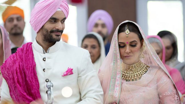 Angad Bedi And Neha Dhupia Ties The Knot!