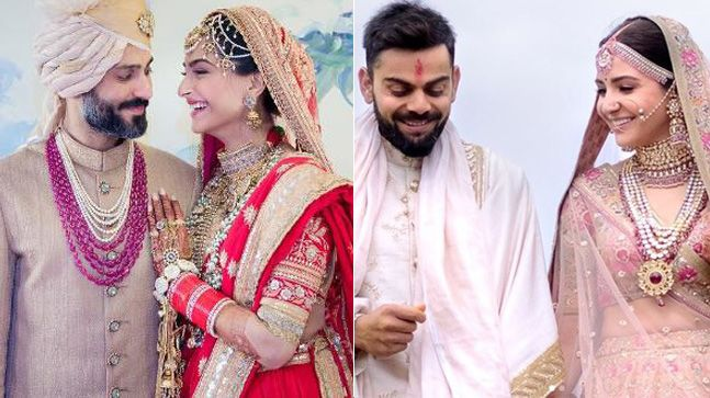 Virat Anushka Or Sonam Anand Whose Wedding Outfits Did
