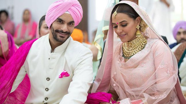 Neha Dhupia and Angad Bedi get married in a hush hush ceremony