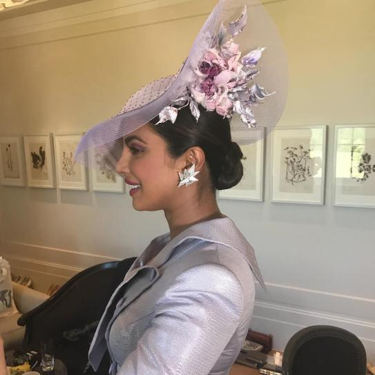 01d3932c86eda Priyanka Chopra to Amal Clooney s fascinators  The hats that ruled Royal  wedding. Previous. Next