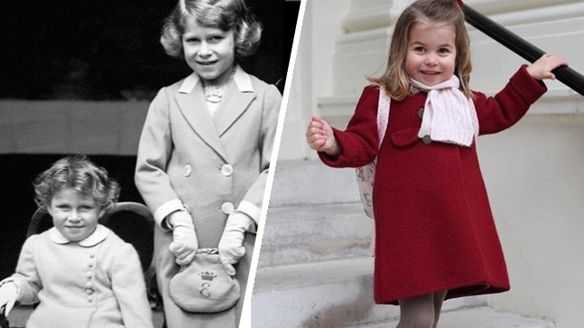Princess Charlotte Looks Unbelievably Similar To Queen Elizabeth Ii In These Photos