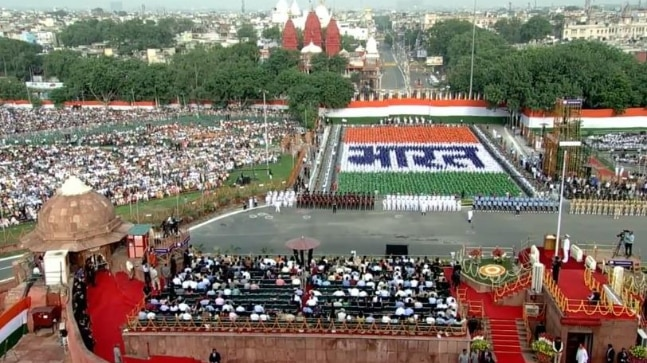 Red Fort, Independence Day