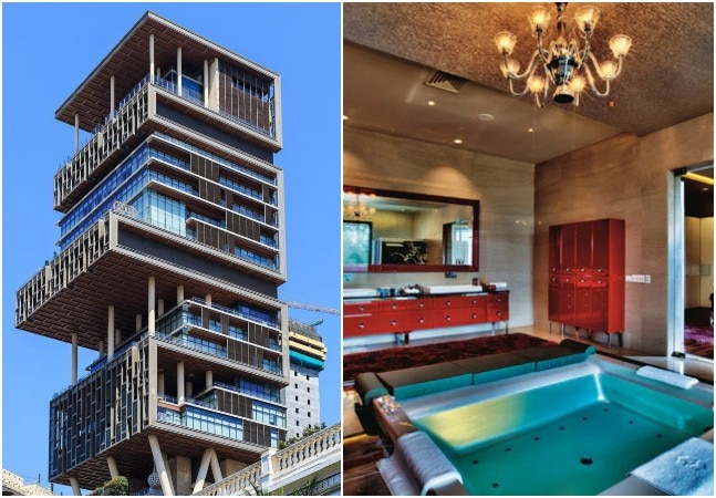 What are the features of Mukesh Ambani's house Antilia ...