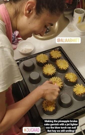 Alia Bhatt Bakes A Special Birthday Cake For Boyfriend Ranbir Kapoor