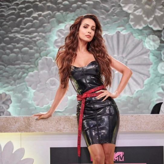 Malaika Arora Is Sultry Beyond Words In This Hot Leather Dress See Pics  Indiatoday-3567