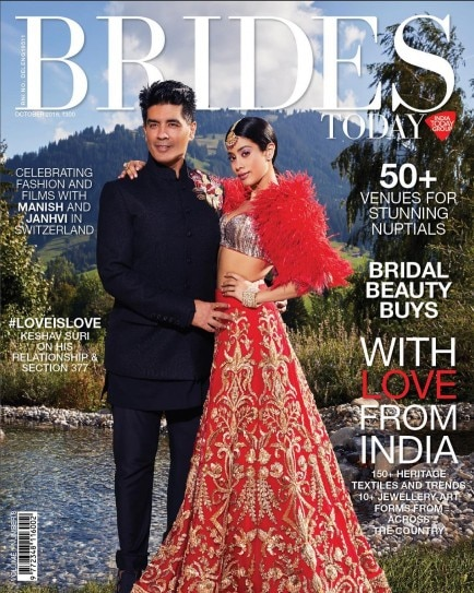 Janhvi Kapoor and Manish Malhotra bring back Sridevi's