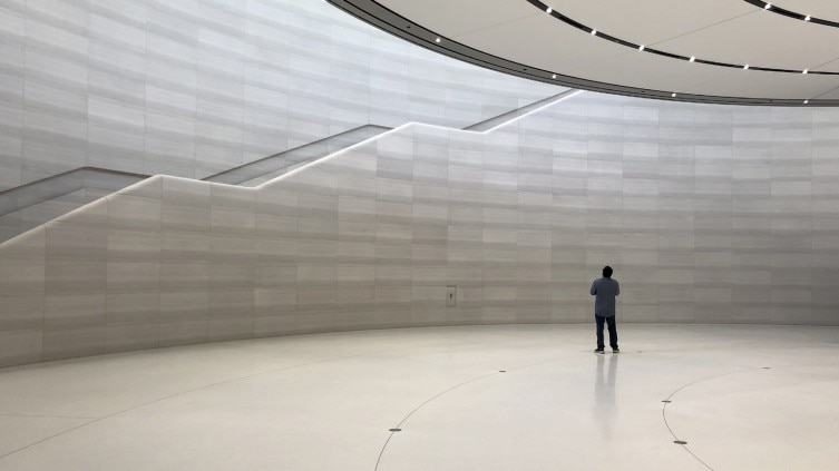 Inside Steve Jobs Theatre at Apple Park: One of Apple's
