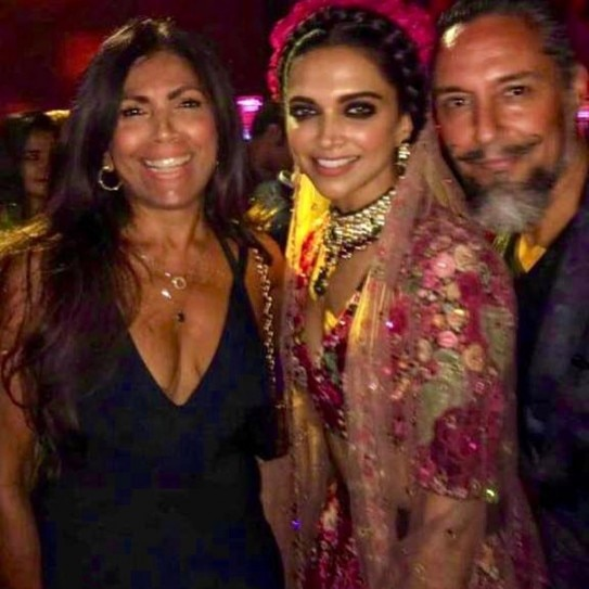 Deepika Padukone Is A Vision In Boho Chic Lehenga For Mumbai