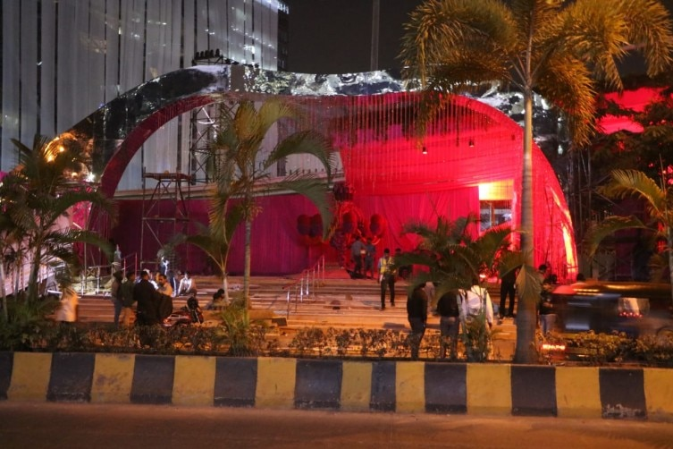 Isha Ambani Wedding Reception: Jio Garden Decked Up Ahead
