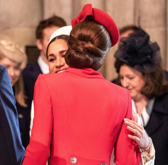 Pregnant Meghan Markle And Kate Middleton End Nasty Fight