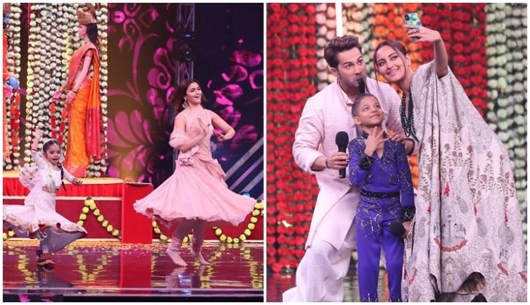Super Dancer Chapter 2: Kalank stars Alia, Varun, Sonakshi have fun with contestants