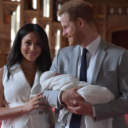 New Mom Meghan Markle And Prince Harry Look Adorable With