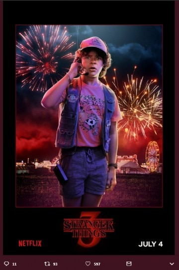 Stranger Things Season 3 Character Posters Out Netflix