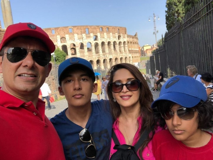 Madhuri Dixit's Italian holiday with family is giving us vacay goals. See pics