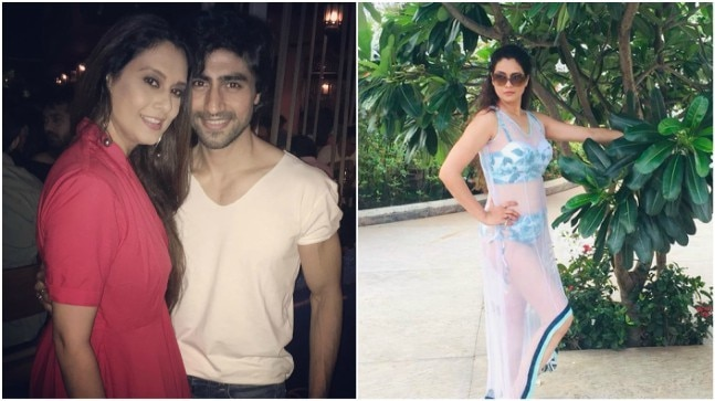 Harshad Chopda's reel mom-in-law Mallika Nayak looks smoking hot in bikini. See pics
