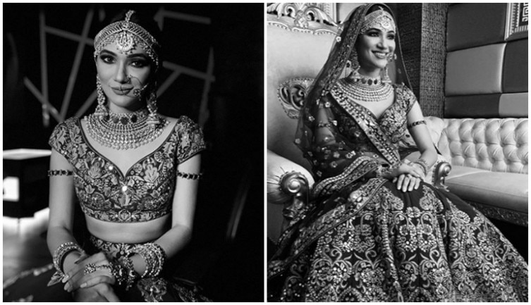Ridhima Pandit looks breathtakingly beautiful as a bride in these