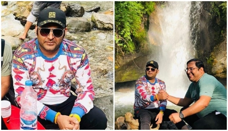 Kapil Sharma holidays with college friends in Manali sans Ginni Chatrath. See pics