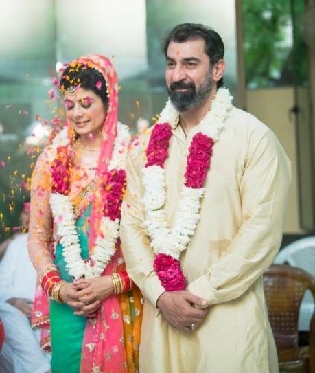 Image result for pooja batra nawab shah wedding