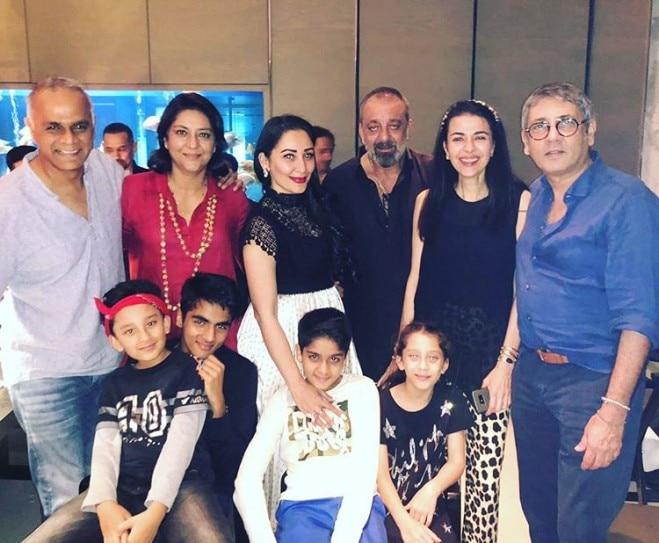 Sanjay Dutt celebrates 60th birthday bash with wife