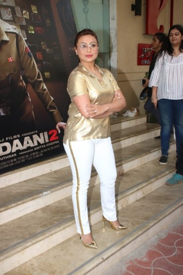 Image result for rani in mardaani 2  outfit""