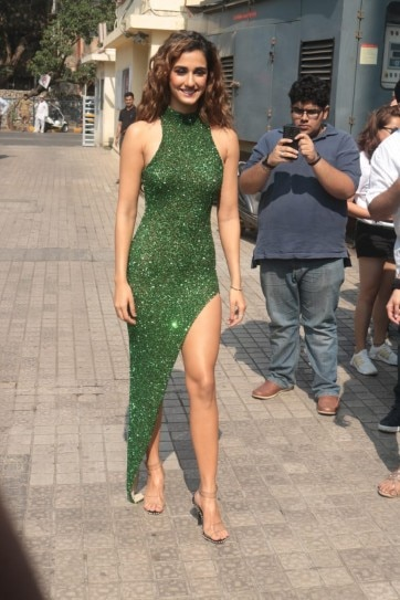 Disha Patani Stuns In A Shimmery Dress With Thigh High Slit At Malang Trailer Launch See Pics Indiatoday