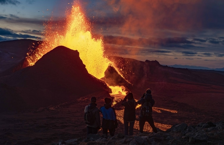 Iceland's Fagradalsfjall volcano eruption a 'wonder of nature' | See  stunning pics | IndiaToday