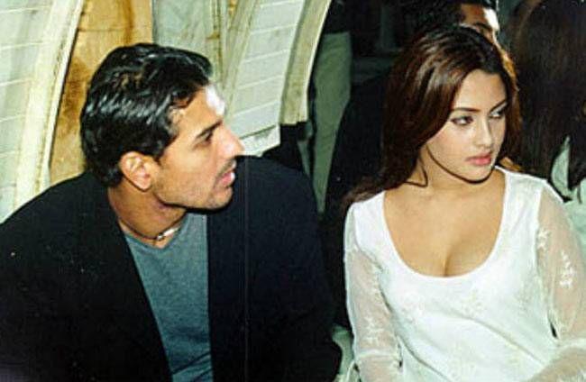 John Abraham and Riya Sen