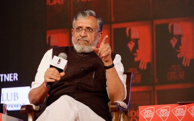 Sushil Kumar Modi at India Today Conclave East 2017