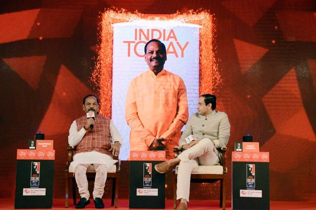 Jharkhand Chief Minister Raghubar Das at India Today Conclave East 2017