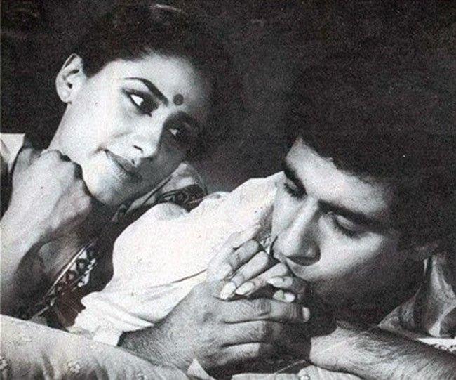 Smita Patil and Raj Babbar