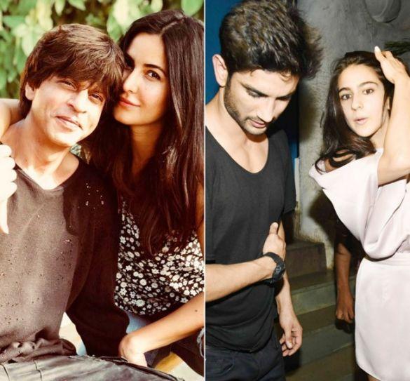 Shah Rukh Khan, Katrina Kaif, Sushant Singh Rajput, Sara Ali Khan