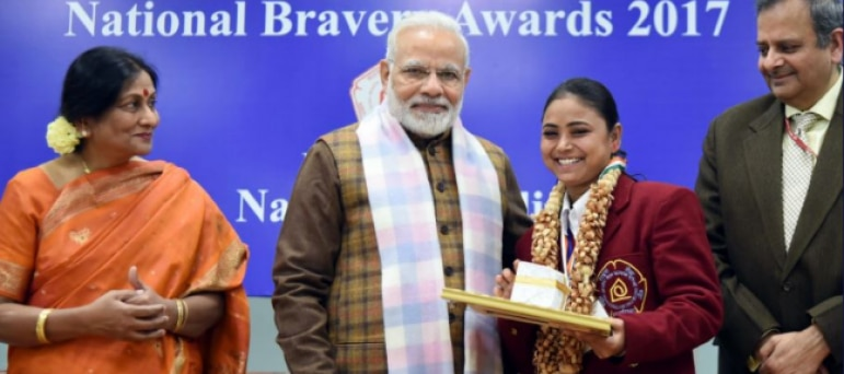 an essay on national bravery awards from rajasthan National bravery award she has come to the capital from chhattisgarh to collect the national bravery awards sapna kumari meena (rajasthan) and.
