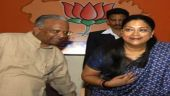 Raje takes charge of poll preparations