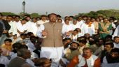 Shivraj holds protest march in Delhi