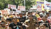 Parents protest against fee hike