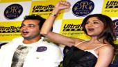 Shilpa launches Rajasthan Royals' T-shirt