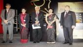 From left to right, Dinesh Singh, Usha Albuquerque, Vijay Gupta, Vidya Yeravdekar, Malcom Mistry