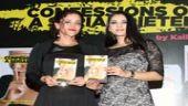 Kalli Purie with Kannada actress Ramya