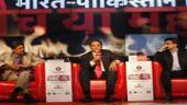 Kapil Dev, Md Azharuddin, and Sourav Ganguly at Agenda Aaj Tak