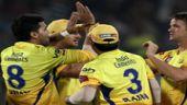 Chennai Super Kings' players