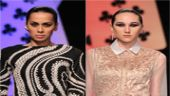 Models at WIFW 2014.
