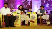 Renuka Bishnoi, Dushyant Chautala and Vineet Joshi speak at the India Today Mind Rocks Youth Summit 2014 in Chandigarh.