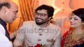 Singer-politician Babul Supriyo tied the knot with air hostess Rachna Sharma on August 9. The wedding saw the who's who of Indian politics, including Prime Minister Narendra Modi, in attendance.