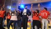 Abhishek Bachchan brought the house down with his dance moves at the India Today Mind Rocks 2017 Bhopal.
