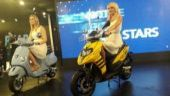 Show girls of Auto Expo 2018