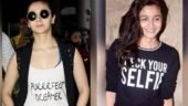 Alia Bhatt has a thing for quirky tees.