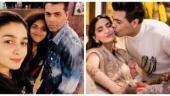 Alia Bhatt with Karan Johar, Sonam Kapoor with Karan Johar