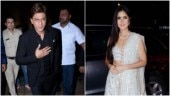 Shah Rukh Khan (L) and Katrina Kaif